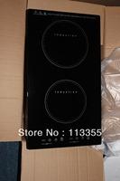 FEDEX free shipping double burners induction hob 3000W (IDA021)
