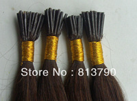Best Selling! I Tip Hair Extension Straight Brazilian Remy Tip Human hair Extension Pre-Bonded Free Shipping