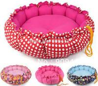 New Printed Drawstring Dog Bed Dual Purpose Pumpkin Pet Nest Cat Nest Pet Cotton Mat Top Quality
