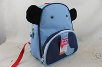 New arrival  Cute Zoo elephant  Cartoon  School Bags Mini Oxford Canvas Backpack Gift for Children school Kids bagback