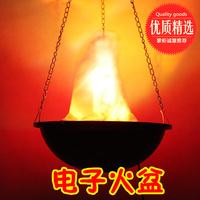 2014 Seconds Kill Souvenir Casamento Lamps Cake Topper Electronic Fire Pit 30cm Large Lamp Decoration Lights Flame Pendant Light