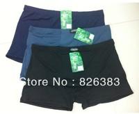 Wholesale  (10 pieces/lot) men's Bomboo Fiber Boxer Shorts size 6X big men underwear/ very soft