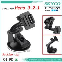 GOPRO Sports Action Camera Mount , Car Window Mount Tripod For Camera, Car Suction Cup Mount For GoPro HD Hero, Hero2, Hero3
