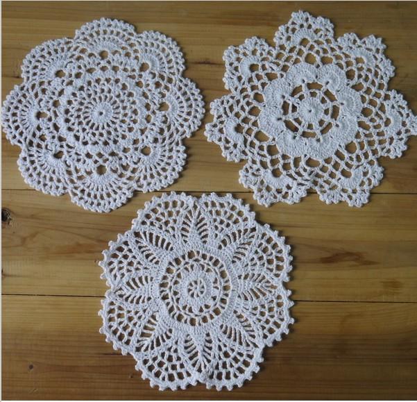 Crochet Round Tablecloth Patterns Ebay Holidays OO