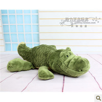 New 2013 Free Shipping The NICI high quality stuffed plush toys big size green crocodile Doll The Soft baby toy hot selling