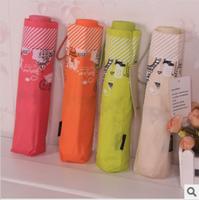 Free Shipping Umbrella princess umbrella sun-shading sunscreen umbrella folding