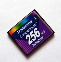 Original transcend uninspired industrial cf card 256mb 256m cf