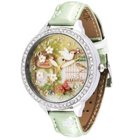 With Original Box MINI watch Secret Garden Handmade POLYMER CLAY Korea Rhinestone Dress Women Watch