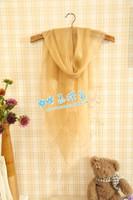 Free Shipping 2013 spring solid color all-match fluid design tassel long scarf ol cape scarf silk scarf female