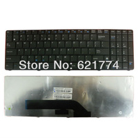 New Black Replacement Laptop Keyboard for Asus K51 K50 Series K60 K70 F52 P50 X5 Series Laptop Free Shipping