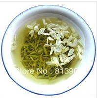 100% organic high quality Chinese jasmine tea  jasmine flower Like snow green tea  free shipping 250g*2