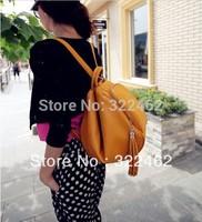 Free Shipping 2013 Casual Women Student  shoulder  Bag, Lady Tote Handbag Tassel bag Wholesale 0017