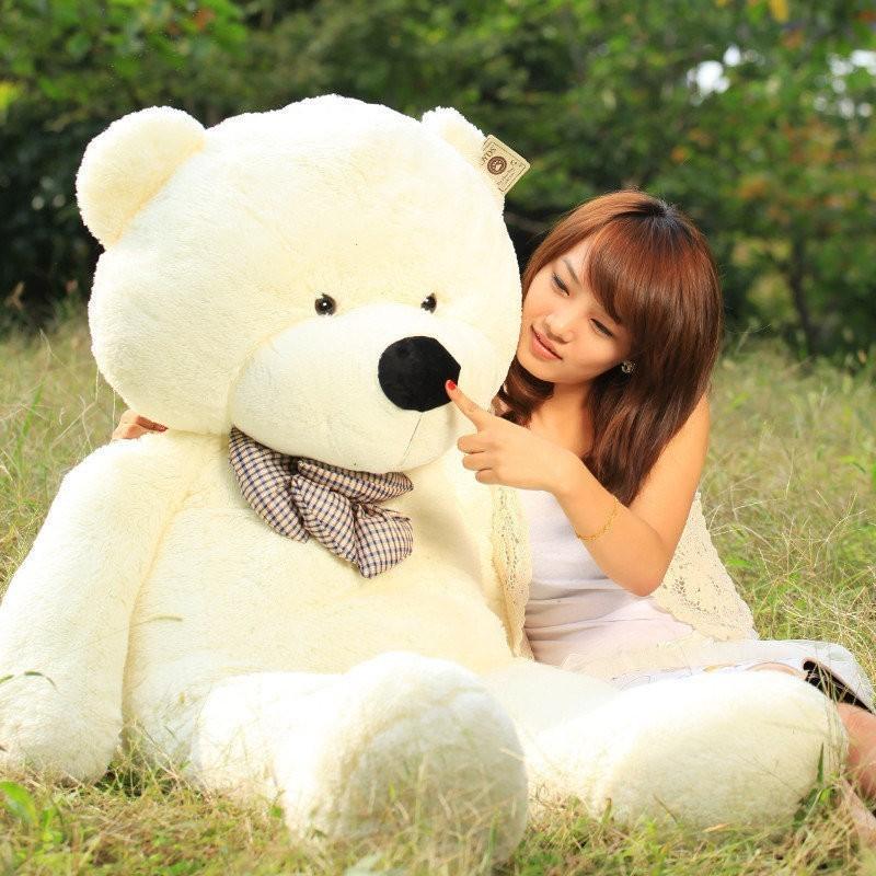 Giant stuffed teddy bear - photo#19