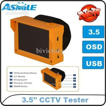 Wholesale - 3.5 Inch LCD Mini wristband CCTV video security tester monitor