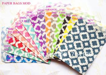 """Wholesale - 14 Colors Mix Mod 1400pcs  5""""x7"""" (12.7cm x 17.7cm) Party Supplies party favor Bags Candy Paper Goods Bag kraft bags"""
