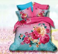 duvet king size Top ten Free Shiping 100% Cotton  attention Matzka a flower bedding set king size