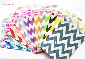 """14 Colors Mix Chevron 1400pcs  5""""x7"""" (12.7cm x 17.7cm) Party Supplies party favor Bags Candy Paper Goods Bag kraft bags"""