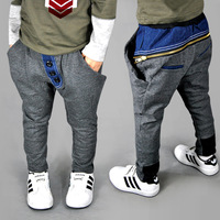 2013 children's clothing male child autumn trousers harem pants pants big PP skinny pants