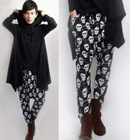 mens trousers low cotch pants long harem pants skull trousers 2013 autumn trousers harem pants dance pants
