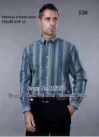 Free shipping new fashion men' s long shirts!Cotten and big size have xxxl,men shirt,  men 's clothes shirts for men 2013
