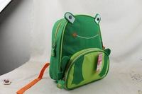 Topsale Hotsale  Cute Zoo   Cartoon  frog ladybug  School Bags Mini Oxford Canvas Backpack Gift for Children school Kids bagback