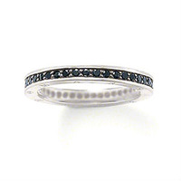 TSR29B  New! Wholesale Free shipping 925 sterling silver jewelry / 925 silver ring SIZE 8