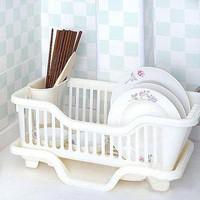 Drip bowls storage rack plastic wankuai dishes tableware plate drain basket water glove bowl rack