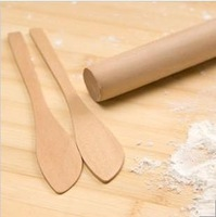 Wood bag dumplings tools piece set dumplings device user rolling pin spoon ganmian quarterstaff