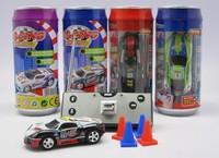 WLtoys 1:52 Mini 8.5CM Electric RC Toy & Lights Big Coke Can Car WL 2030