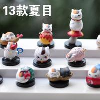Free shipping! Full set 13 cat base decoration dolls doll boxed