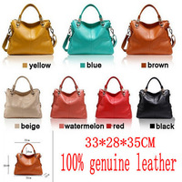 2013 limited edition leather bag classic genuine leather all-match women's handbag
