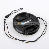 N Camera Lens Cap Protection Cover 49mm/52mm/55mm/58mm With Anti-lost Rope(Please tell us to you need the size!)