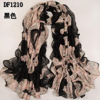 Scarf female long design bali yarn broadened lengthen large measurement fluid muffler scarf cape autumn and winter