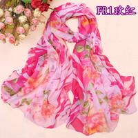 Plus size paragraph four seasons silk scarf wire female chiffon scarf cape