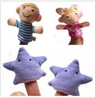 World Nursery Rhyme-Twinkle Twinkle Little Star Plush Finger Puppets,Stuffed Doll For Kids/Students Talking Props,40pcs/lot