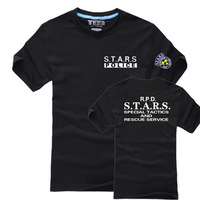 Freeshipping  Biochemical Series s.t . a.r . s Personality Short-Sleeve T-shirt