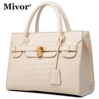 Women's handbag light 2013 fashion bag crocodile pattern handbag messenger bag