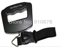 Free Shipping 50kg 10g Digital Luggage Scale Portable Travel Luggage  Weight Scale  Hook Hanging Scale