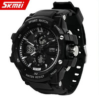 Fashion male watch led electronic waterproof table multifunctional sports watch