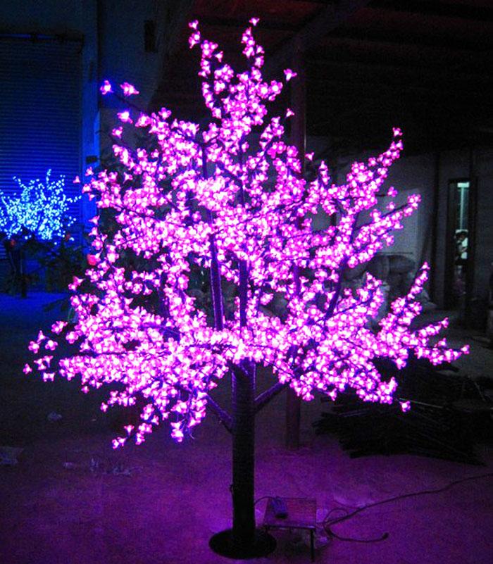 Led Lights For Outdoor Trees : Treelightledcherrytree120CMtall1728lampsuperbrightoutdoor