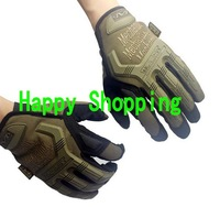 Mechanix M-Pact Military Airsoft Glove Racing Hunting Cycling Motorbike Bicycle Bike Full Finger Gloves S M L XL Sand