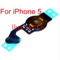 100% original home button flex for iphone5