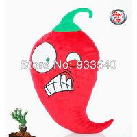 45cm 17inch Popcap Authorization Plant Vs zombie Jalapeno Plush Pillow Toy Doll,1pcs