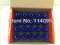 BLOX LUG NUTS wheel lug nuts M12X1.25MM RED Extended Aluminum7075 Blue