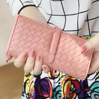 Wallets Isn't 2013 plaid drawstring women's long design wallet