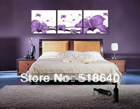 3pcs Large Modern Flowers Abstract Canvas Painting Home Living Room Decoration Wall Hanging Picture Photo Print Art Pt315