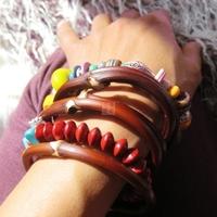 Rattan national trend accessories natural handmade rattan wild male women's bracelet millettia bracelet