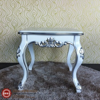 European-style coffee table modern wood carved corner a few neo-classical fashion small side table
