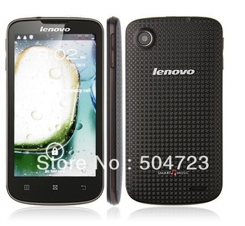HK stock New arrival 2013 lenovo A800 MTK6577 MTK6577 1.2GHz dual core 3G Android 4.0 Support Russian