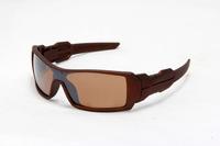 Hot Oil Rig Sunglass Brown Frame brown Lens men & women  most popular sun glasses Freeshipping